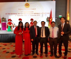 VietCham Singapore at the 71st Anniversary of the National Day of the Socialist Republic of Vietnam