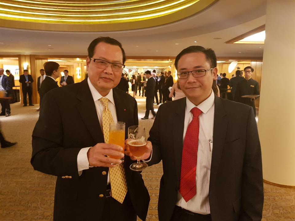 Đại sứ Minh & David Nguyen
